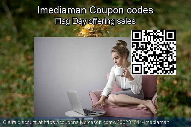 Imediaman Coupon code for 2021 Spring