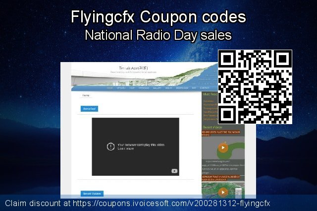 Flyingcfx Coupon code for 2020 Halloween