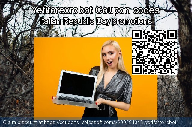 Yetiforexrobot Coupon code for 2021 Mother's Day