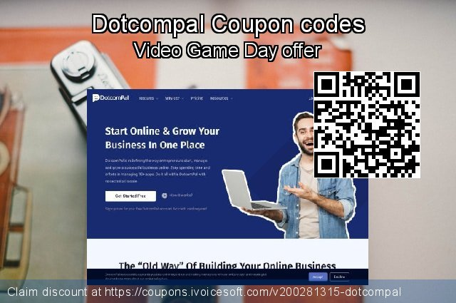 Dotcompal Coupon code for 2020 Black Friday