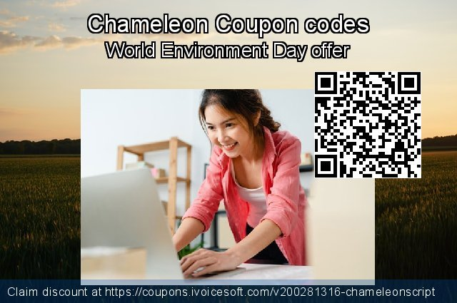 Chameleon Coupon code for 2020 Thanksgiving