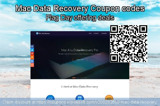 Mac Data Recovery Coupon code for 2020 American Independence Day