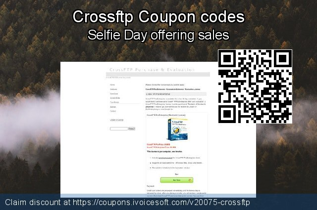 Crossftp Coupon code for 2021 Daylight Saving