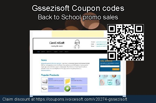 Gssezisoft Coupon code for 2020 July 4th