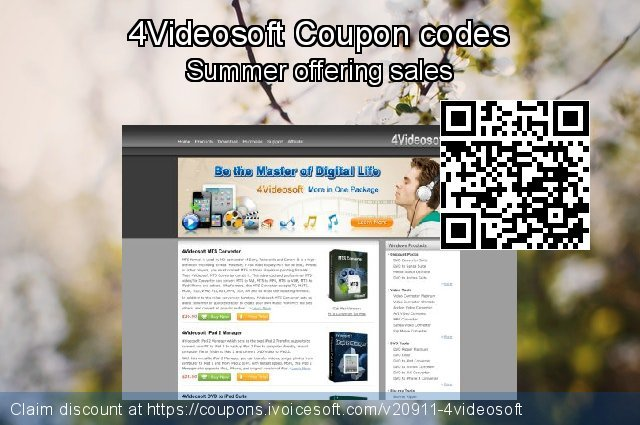 4Videosoft Coupon code for 2019 Women Day