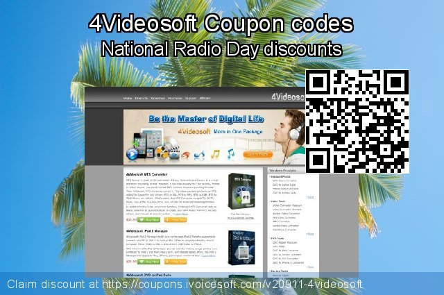 4Videosoft Coupon code for 2019 July 4th
