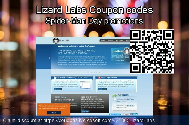 Lizard Labs Coupon code for 2019 Summer