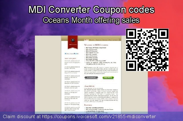MDI Converter Coupon code for 2021 Daylight Saving