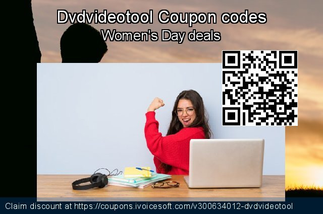 Dvdvideotool Coupon code for 2021 Spring