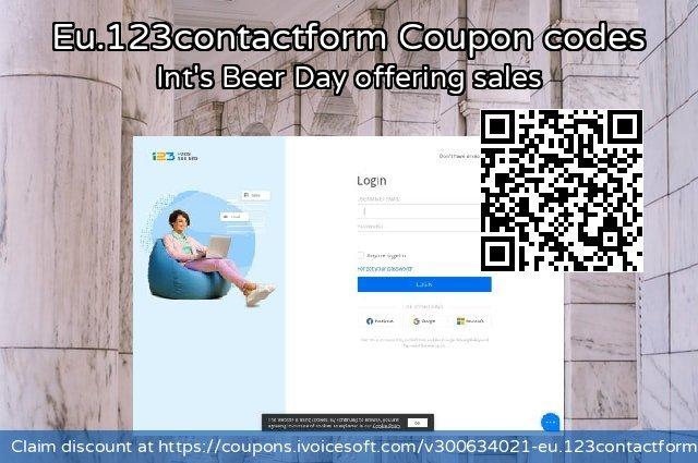 Eu.123contactform 激动的 优惠, 2021 夏天