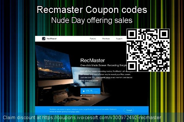 Recmaster Coupon code for 2021 April Fools' Day