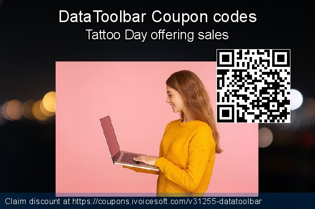 DataToolbar Coupon code for 2020 Spring
