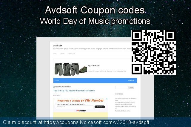 Avdsoft Coupon code for 2019 Christmas