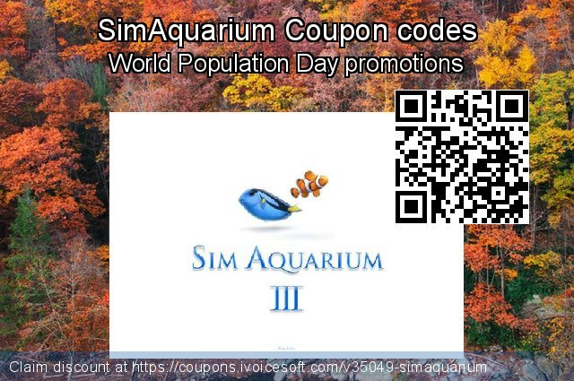 SimAquarium Coupon code for 2019 New Year's Weekend