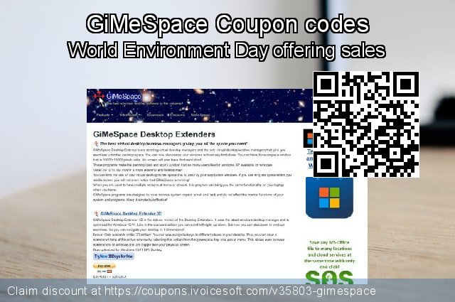 GiMeSpace Coupon code for 2020 Summer