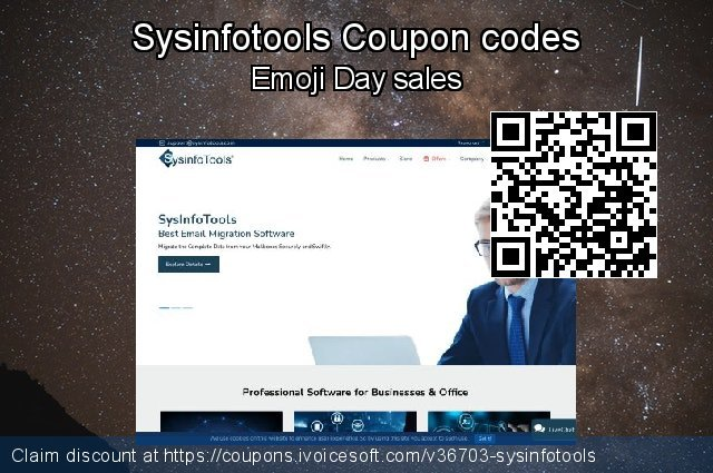 Sysinfotools Coupon code for 2019 New Year
