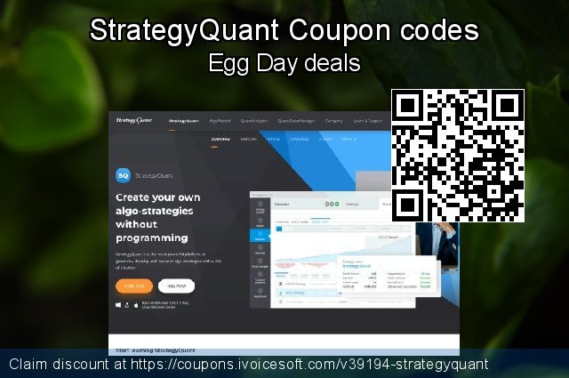 StrategyQuant Coupon code for 2019 4th of July