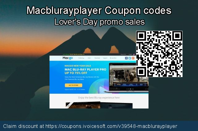 Macblurayplayer Coupon code for 2020 Happy New Year
