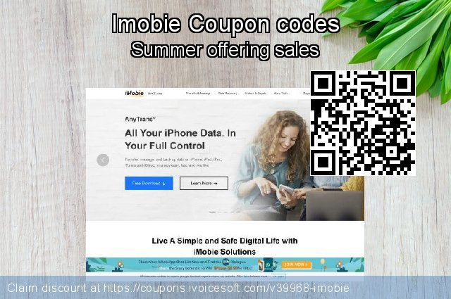 Imobie Coupon code for 2020 April Fools' Day