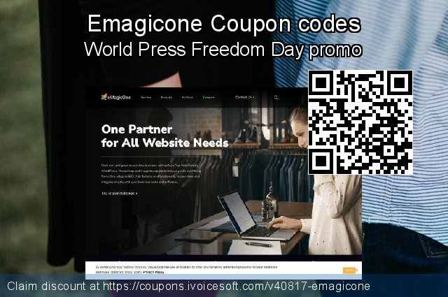 Emagicone Coupon code for 2021 National Women month