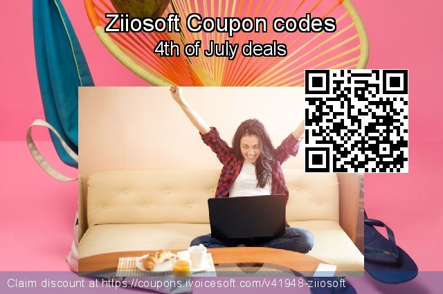 Ziiosoft Coupon code for 2019 Labour Day
