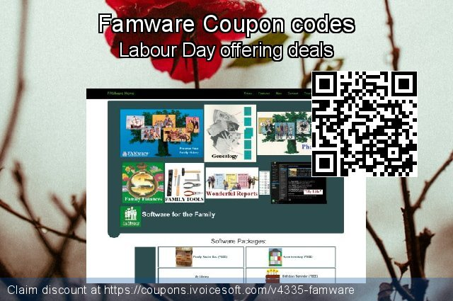 Famware Coupon code for 2019 Halloween