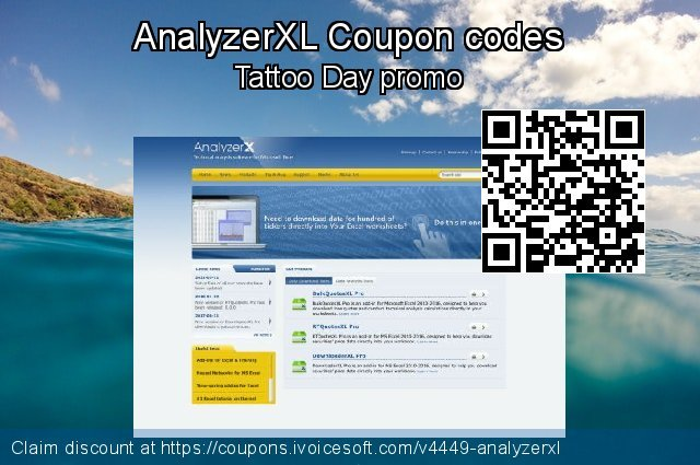 AnalyzerXL Coupon code for 2019 4th of July