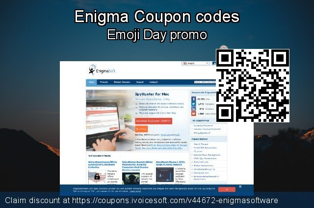 Enigma Coupon code for 2021 April Fools' Day