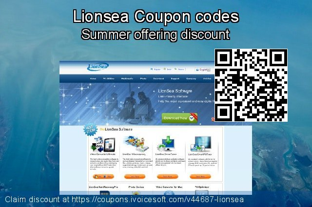 Lionsea Coupon code for 2020 Back to School coupons
