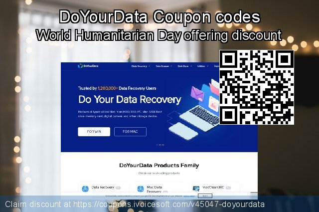 DoYourData Coupon code for 2019 Women Day