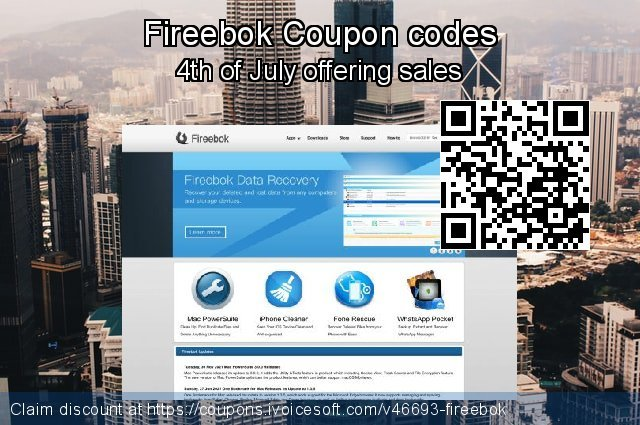 Fireebok Coupon code for 2020 Happy New Year