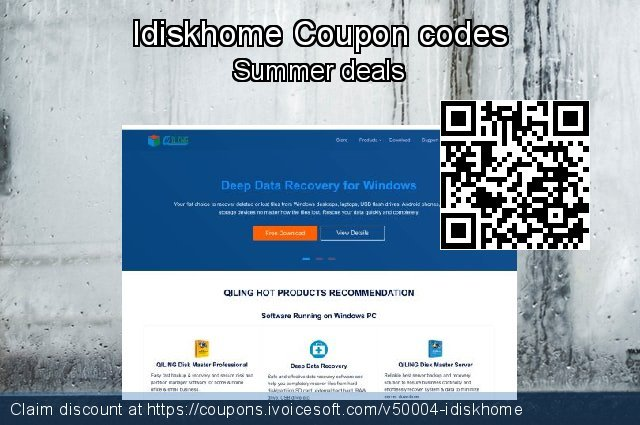 Idiskhome Coupon code for 2019 National Women month