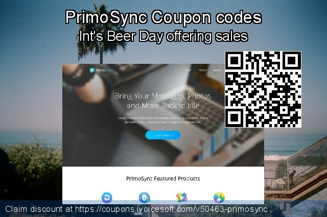 PrimoSync Coupon code for 2020 Summer