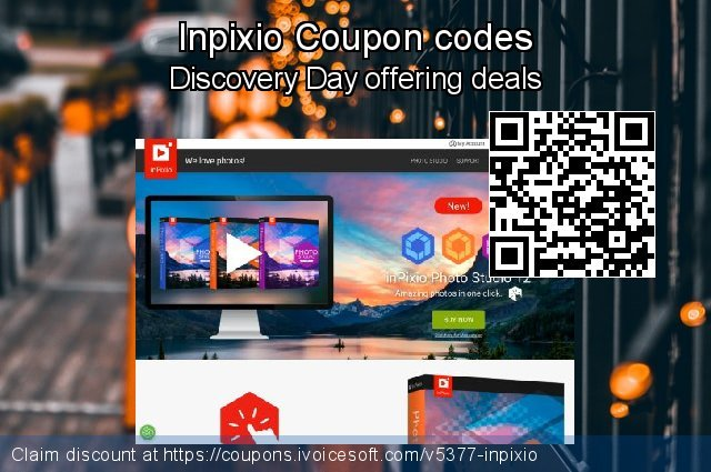 Inpixio Coupon code for 2021 Labour Day