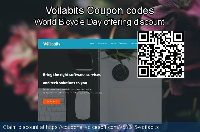 Voilabits Coupon code for 2019 Labour Day