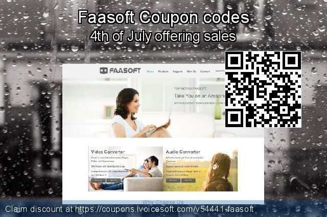 Faasoft Coupon code for 2019 July 4th