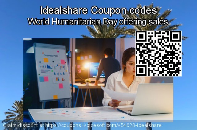 Idealshare Coupon code for 2019 Fourth of July