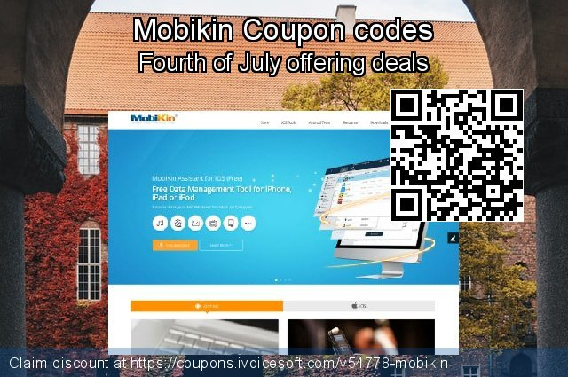 Mobikin Coupon code for 2021 Valentines Day