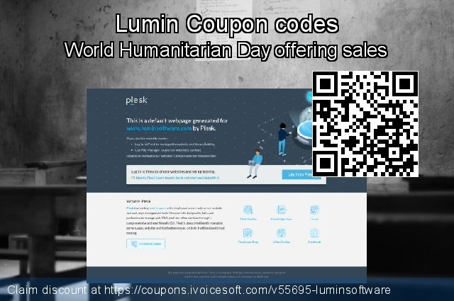 Lumin Coupon code for 2020 Happy New Year