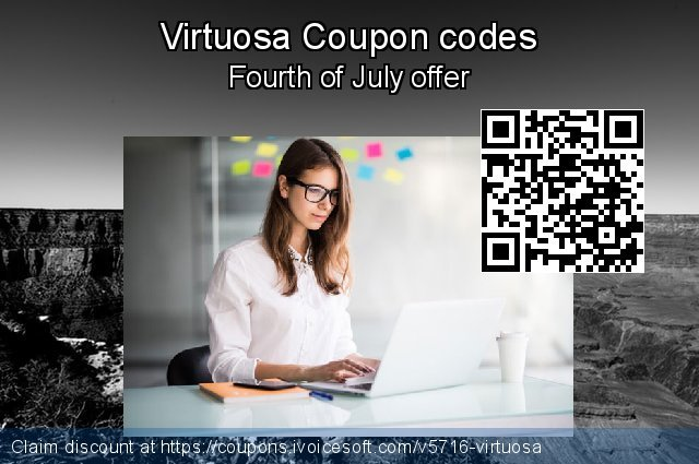 Virtuosa Coupon code for 2019 July 4th