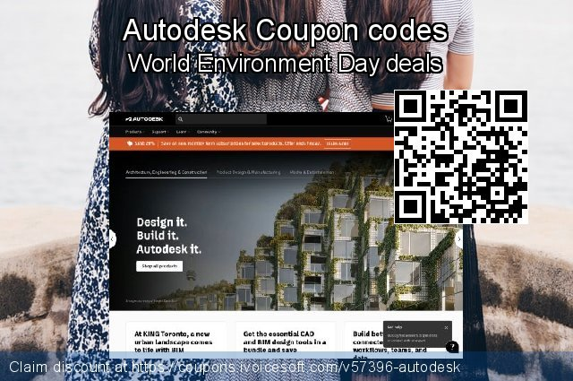 Autodesk Coupon code for 2021 Mother Day