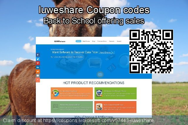 Iuweshare Coupon code for 2021 Daylight Saving