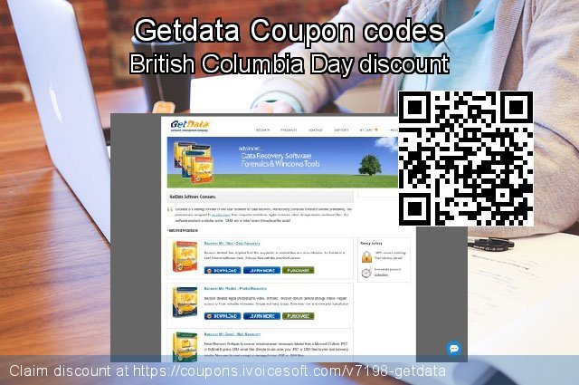 Getdata Coupon code for 2019 New Year