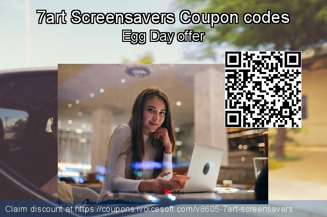 7art Screensavers Coupon code for 2021 Easter day