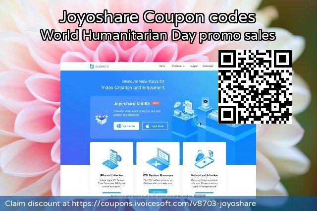 Joyoshare Coupon code for 2021 New Year's Day