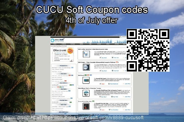 CUCU Soft Coupon code for 2020 July 4th