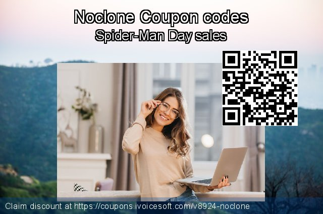 Noclone Coupon code for 2019 National Women month