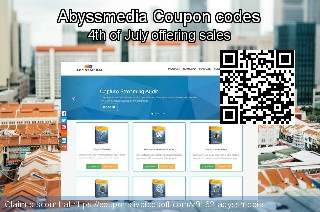 Abyssmedia Coupon code for 2020 4th of July