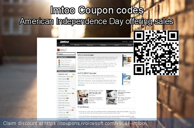 Imtoo Coupon code for 2019 Working Day