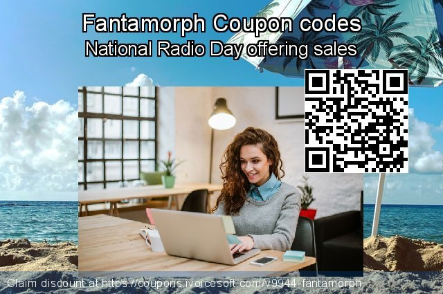 Fantamorph Coupon code for 2019 Christmas & New Year